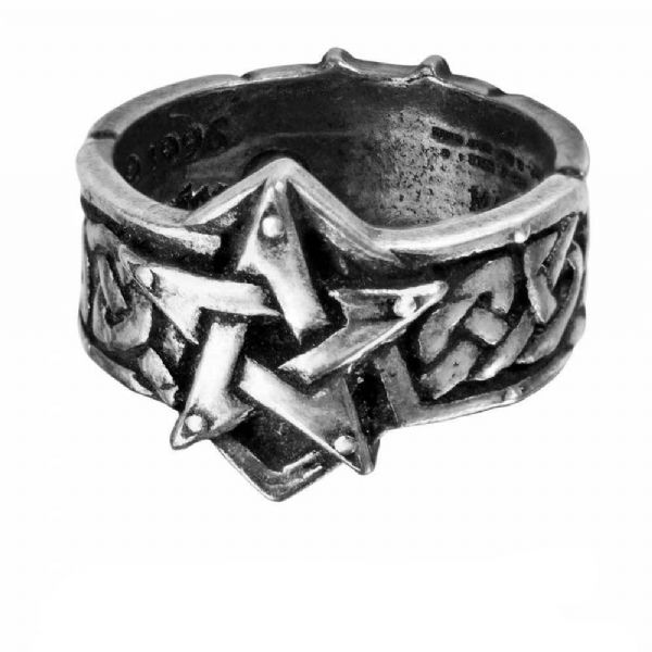 CELTIC THEURGY Pewter Ring by Alchemy Gothic